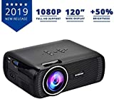 Everycom X7 LED Projector Full HD 1080P Supported, Compatible with Smartphone, TV Stick