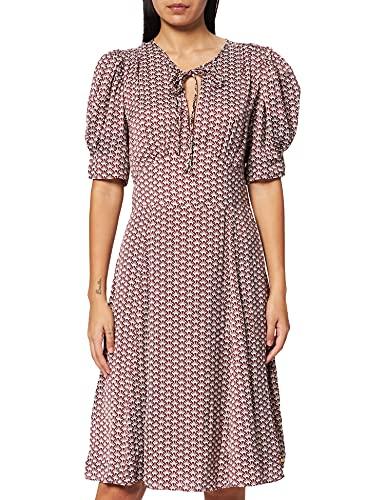 Scotch & Soda Drapey Midi Length Dress Vestido, Combo C 0219, XL para Mujer
