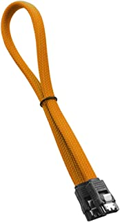 CableMod ModMesh SATA 3 Cable 30cm - Orange
