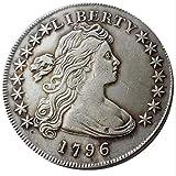 Bespoke Souvenirs Seltene, antike USA, USA, 1796 Jahr, Freiheitszeit, tolle Silberfarbe