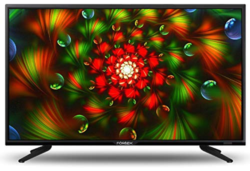 Fortex 60 cm (24 inches) HD Ready LED TV FX24VRI01 (Black) (2019 Model)
