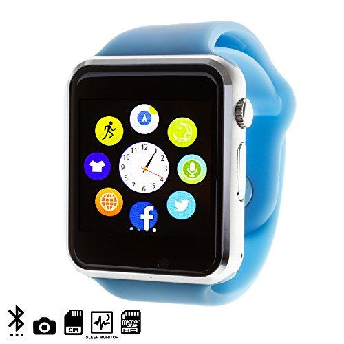 DAM DMQ238 - Smartwatch G08, Color Azul