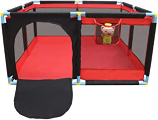 """Baby Playpen Playard for Indoor - Safety Play Pen for Infant and Baby with Sturdy Bases Anti-Skid Fence 74.8""""×50.39""""×25.98"""""""