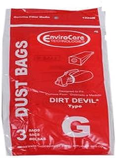 Dirt Devil Royal Hand Vac Type G Paper Bags 3PK # 122SW