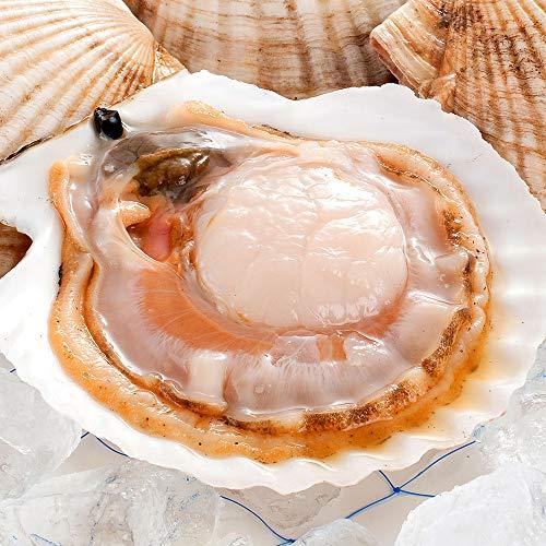 【水揚げ次第お届け】北海道産 活ホタテ 貝柱 2kg [特大サイズ] ほたて 贈答 内祝い ギフト