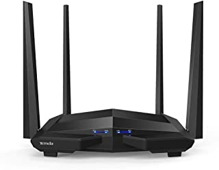 Tenda AC1200 - Router WiFi Gigabit de Doble Banda Inteligente  5GHz