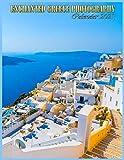 Enchanted Greece Photography Calendar 2021: 8.5x11 Inch 12 Month Calendar Beautiful Pictures, Cute Calendar 2021 Desk, School, Office And Home