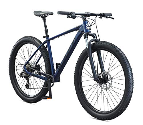 Schwinn 29' Axum Mountain Bike with Dropper Seatpost, Blue