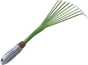 XIAOXIAO tuin hark Tuinieren Handhark, Tuin Kleine Grip Hand Fan Rake, Ergonomische Grip Iron Spray Paint Tuinieren Gereed...