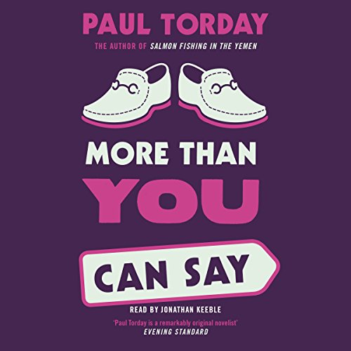 More Than You Can Say audiobook cover art