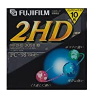 3.5インチ2HDフロッピーディスク10枚パック FUJIFILM MF2HDPC NK10P