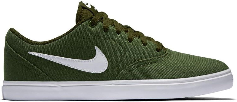 Nike Men's shoes, Colour Green, Brand, Model Men's shoes SB Check Solar CNVS Green