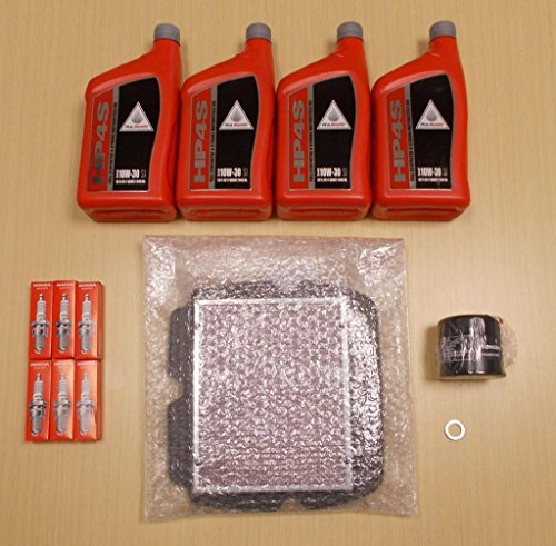 Honda New 2013-2014 GL1800 Gold Wing F6B OE Complete Synthetic Oil Tune-Up Kit
