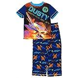 Disney Big Boys' Planes Blue Pajamas Poly 2-Pc Set K157818FC M 8