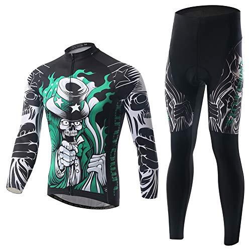 LYzpf Fietsen Pak Bike Kleding Kit Draag Broek Jerseys Kleding Mode Herfst Winter Lange Mouw Voor Outdoor Sport Fietsen Mens & Womens