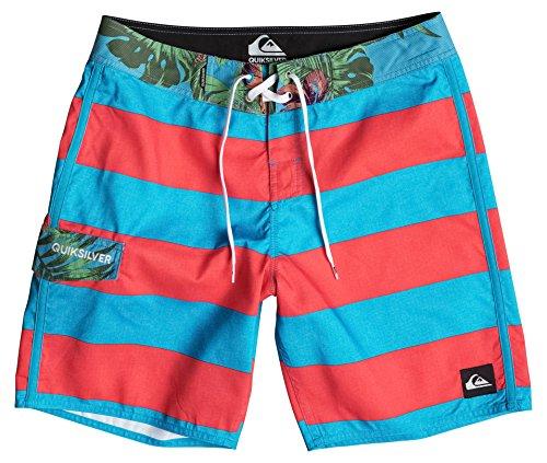 Quiksilver Herren Everyday Brigg 18 Zoll Board Shorts Boardshorts, Hawaiian Ocean, 30