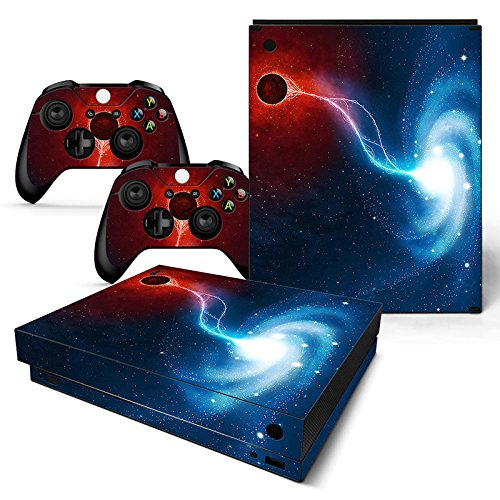 SKINOWN - Skin adhesivo para mando a distancia de consola Xbox One X, Galaxy Nebular: Amazon.es: Deportes y aire libre