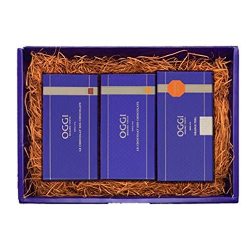OGGI オッジ チョコレート プティーショコラ2本 プティーショコラデショコラ プレーン オレンジ オレンジピールセット