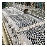 Balcón Escalera Barandilla Redes De Protección Utilizadas Para Escalar Cercas...