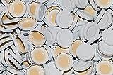 AE-GLAS Tapas de rosca TO43 mm para botellas de cristal, botellas de leche o zumo (10 unidades)