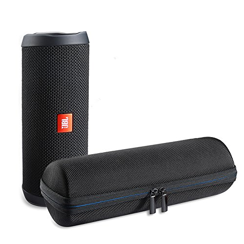 A-VIDET Eva Hart waterdichte hoes reistas voor JBL Flip 4 draagbare Bluetooth luidspreker hoge kwaliteit tas beschermtas case, geschikt voor opladers en USB-kabel