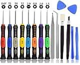 Corslet 16 in 1 Mobile Repairing Tool Kit Electronic Laptop Repair Tool Kit Phone Opening...