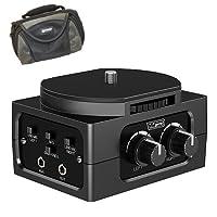 東芝 Camileo Z100 カムコーダー外部マイク XM-AD2 デュアルチャンネル XLR-Mini オーディオアダプター DSLR、カムコーダー、プロビデオカメラ用 - SDC-26ケース付き