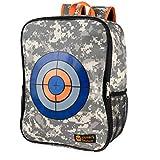 Warners Treasure Target Backpack Storage Carry Equipment Bag for Nerf N-Strike Elite / Mega / Rival Series