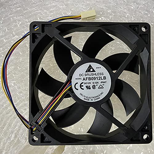 9015 9cm AFB0912LB 12V 0.12A PWM temperature control CPU mute fan