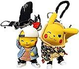 MDCGOK2 UDS. Fashion Pokémon Toys Japonés Anime Figura Pokemon Llavero Llavero Dibujos Animados Pokhemon Llavero Juguetes para niños Pokemon Llavero Llavero Juguete Regalos