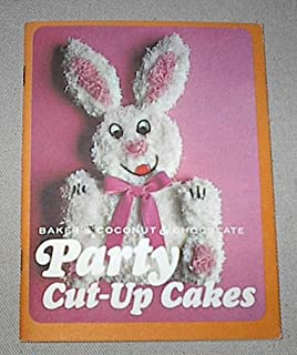 Baker's Coconut & Chocolate Party Cut-Up Cakes (animal & holiday designs)