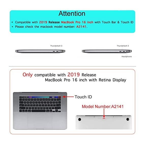 "MOSISO MacBook Pro 16 inch Case 2019 Release A2141 with Touch Bar & Touch ID, Premium PU Leather Book Folio Protective Stand Cover Sleeve Compatible with MacBook Pro 16 inch, Rose Gold 3 <p>It is ONLY compatible with MacBook Pro 16 inch 2019 Released A2141 with Touch Bar & Touch ID (MVVJ2LL/A, MVVL2LL/A, MVVK2LL/A, MVVM2LL/A). Please kindly check the model number ""A1xxx"" on the back of the MacBook BEFORE your purchase. Make sure it matches the model number in the title ""A2141"". WARNING: This case is NOT compatible with other MacBook models. This PU leather case is of superior durability with shock-absorbing features, effectively preventing your MacBook Pro from accidental drops and scratches. Narrow hollow in the bottom forms a stand function when you want to rise typing & viewing angles, meanwhile it can quicker air flows than laying on flat surface. All features are easily accessed through cut-outs and openings without removing the case. 2 corner strips can firm the cover to your device without sway. Magnetic buckle closure makes sure your device securely in place. Our laptop protective cover is of simple design, but looks elegant. MOSISO 1 year warranty on every case.</p>"
