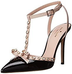 d9f9a67e5 Best Selling Designer Pumps. kate spade new york Women's Lydia Dress Pump  100% Leather Imported Leather sole jewels on upper