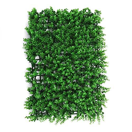 Vosarea Kunstrasen synthetische gefälschte Gras Dicke Rasen pet Rasen Platz Landschaft grün Pflanzen Indoor Outdoor Garten Dekorationen (b)