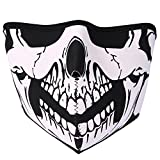 JewelryWe Accessoires Masque Protection Demi Cagoule Ghost Tete de Mort Skull Airsoft...