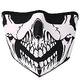 JewelryWe Neopren Biker Motorrad Snowboard Maske Sturmmaske Sturmhaube Skimaske - Skull Face...