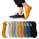 靴下 メンズ くるぶし 夏 10足セット ソックス 滑り止め ビジネス [ 防臭・吸汗速乾 ] 綿 24-28cm