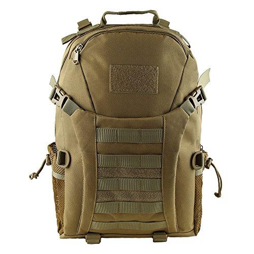 hukoer 35L/45L Military Tactical Rucksack–Tactical Assault MOLLE Rucksäcke Wasserdicht Erweiterbar Jagd Rucksack Outdoor Daypack für Wandern Camping Trekking Jagd Tasche