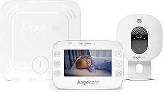 "Angelcare 4.3"" Movement, Video & Sound Monitor, White,"