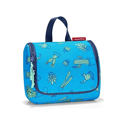 Reisenthel toiletbag Pochette per trucco, 23 cm, 3 liters, Blu (Cactus Blue)