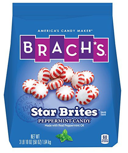 Brach's Star Brite Candy, Peppermint, 110 Count,Pack of 1