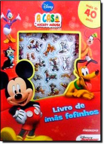 A Casa do Mickey Mouse: Livro de Ímãs Fofinhos