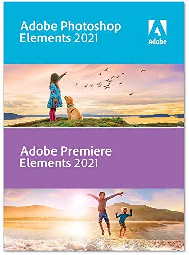 Adobe Photoshop Elements 2021 & Adobe Premiere Elements 2021|Retail|1 Gerät|unbegrenzt|PC/MAC|Disc|Disc