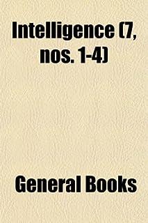 Intelligence (Volume 7, Nos. 1-4)