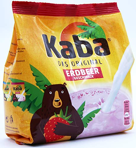 Kaba das Original Erdbeer Geschmack, 12er Pack (12 x 400g)