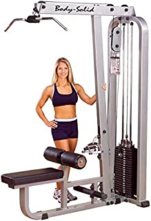 Body Solid SLM-300G/3 Lat Machine Stack, 310 lb, Silver