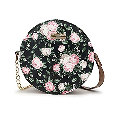 IRMAO Cute Round Design sling bag Collection for Women & Girls Pack of 1