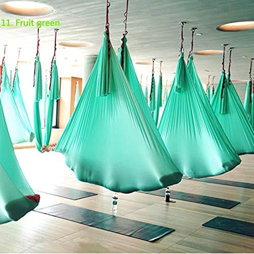 HEEGNPD Nieuwe elastische 4 meter yoga luchthangmat schommel multifunctionele Anti-zwaartekracht yoga riemen voor yoga training yoga voor sport,7