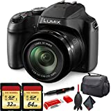 Panasonic Lumix DC-FZ80 Digital Camera + Memory Card Bundle