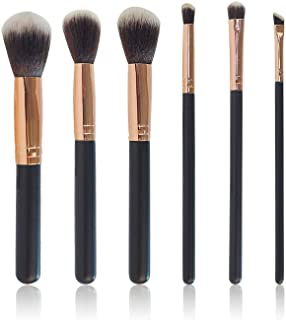 gsfesdfds,Makeup Brushes Premium Makeup Brush Set Professional Foundation Blending Blush (6pcs, Golden Black)
